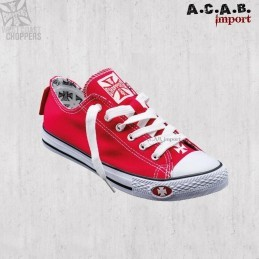 Basket West Coast Choppers Warriors Low-Top Red