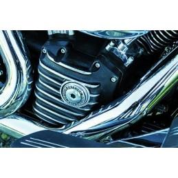 Cam Cover EMD Snatch Blackcut Twin Cam 01-17
