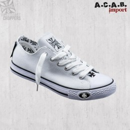 Basket West Coast Choppers Warriors Low-Top White