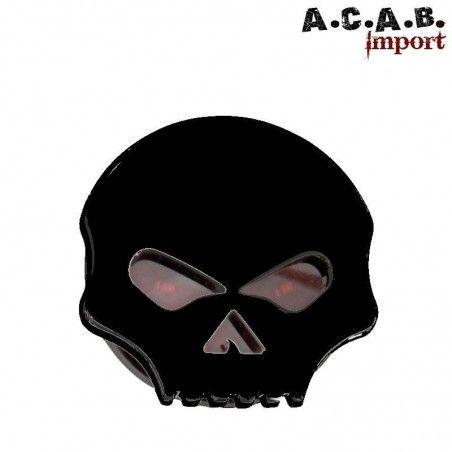 Feu stop et position skull noir