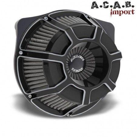 Filtre à air Arlen Ness Beveled inverted big Sucker noir FLT Tourer 2008 2016