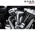 Filtre à air cipher chrome noir haute performance pour Harley Davidson par Ciro Ciro - 1