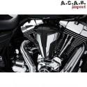 Filtre à air cipher noir chrome haute performance pour Harley Davidson par Ciro Ciro - 1
