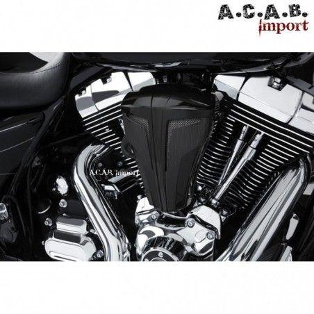 Filtre à air cipher noir haute performance pour Harley Davidson par Ciro