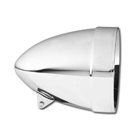 Mini phare 4 1/2'' Chrome lisse