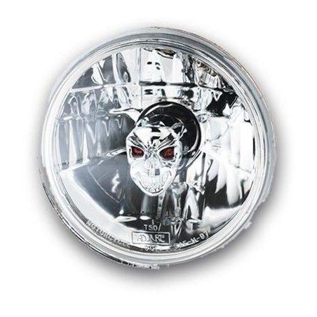 Optique de phare Adjure Skull style 5 3/4'