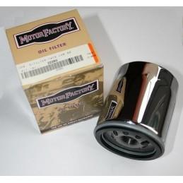 Filtre à huile Premium chrome Twin Cam 88, 1584 et M8 H D