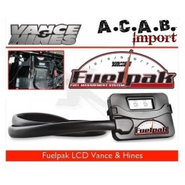 Fuelpak Vance & Hines LCD pour Sporster XL 2007 à 2013 Harley Davidson