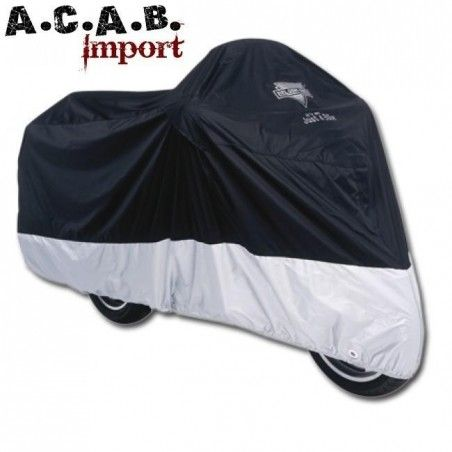 Housse moto Deluxe All-Season Cover Taille X-Large pour modeles Dyna, VRod et Sporster.