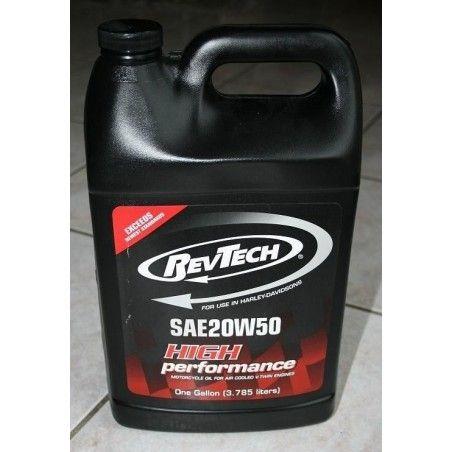Huile RevTech 20W50 Multiviscosité 1 galon soit 3,785 l
