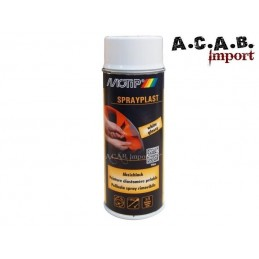 Bombe de peinture élastomère pelable Spraylast blanc Motip 400ml
