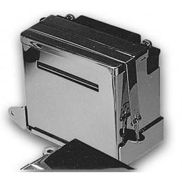 Kit caches batterie et cuvette chromés FX 73-86