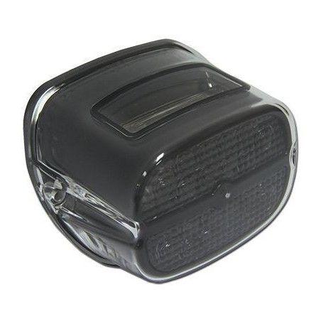 Feu à LED lentille fumée capotage noir