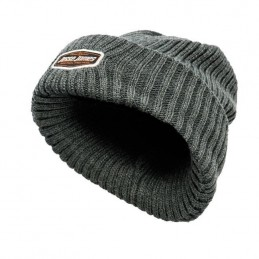 BONNET BEANIE JESSE JAMES STURDY GREY BIKER