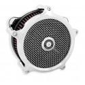 Filtre à air Performance Machine Super gas Chrome BigTwin 93-17 performance Machine - 1