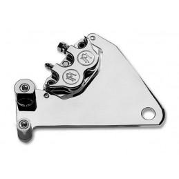 Etrier frein arrière + support Performance Machine Chrome XL 84-99