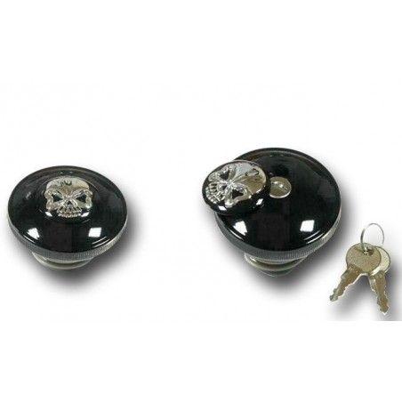 Bouchon à fermeture à clé ventilé Skull 82-95