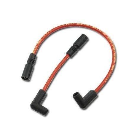 Cables de bougie Accel 8mm Rouge Dyna 99-17