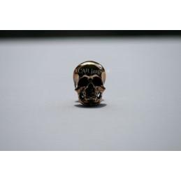 vis decorative skull bronze joaillerie