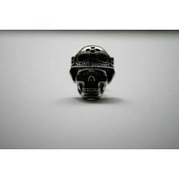 vis decorative racing skull inox