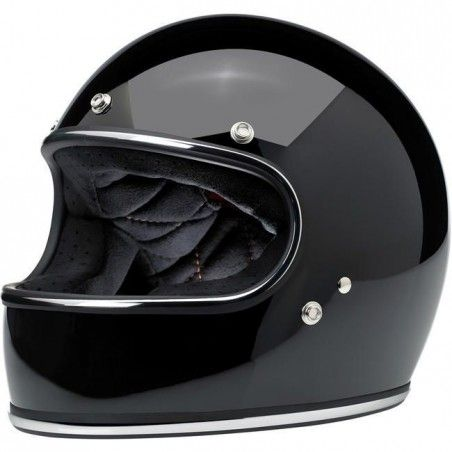 Casque Biltwell Gringo Gloss Black