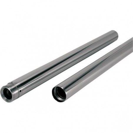 "Tubes de fourche 41mm -4"" Softail Dyna 00-17"