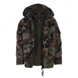 Parka militaire Camouflage 101 inc
