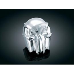 Cache Klaxon Skull Kuryakyn pour Harley Davidson 7718