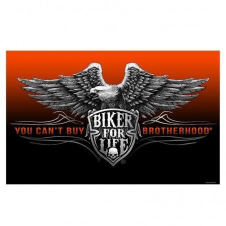Drapeau Hot Leathers Biker Brotherhood