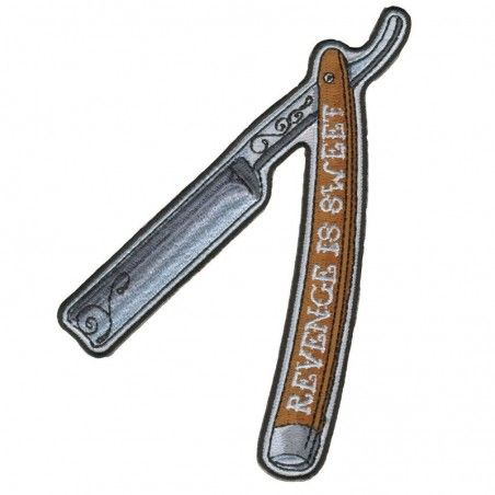 Patch Hot Leathers Straigh Razor