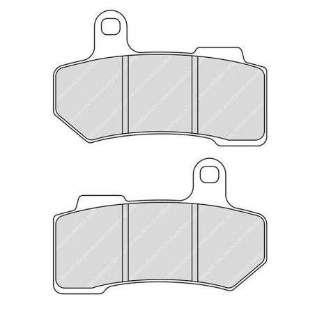 Plaquettes de frein fritté Motor Factory Ar Tourer et Vrod 06-17