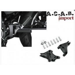 Kit montage noir cales pieds passager Sporster 2014-2019