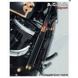 kit radiateur d'huile grenade par RBS noir Twin Cam Harley Davidson 2000 2015