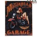 Plaque decorative metal 36 Motorhead