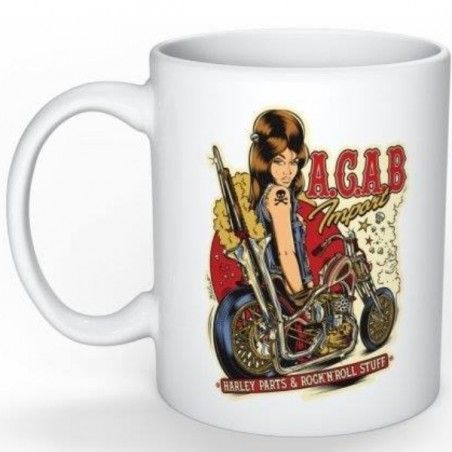 Mug A.C.A.B. Import chop 70s David Vicente