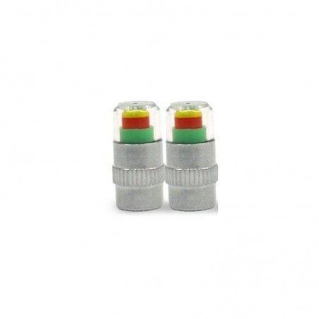 Paire de bouchons de valves indicateurs de pression