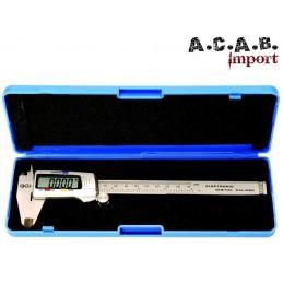 Pied à coulisse digital 150mm mesure et conversion en pouces BGS Technik