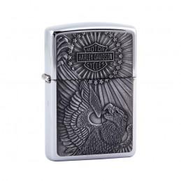 Briquet Zippo acier aigle original Harley-Davidson®