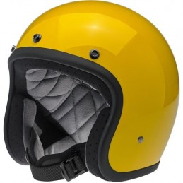 Casque Biltwell Bonanza Safe-T Yellow