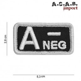 Patch Rhesus A negatif
