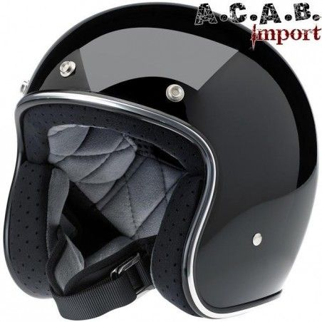 CASQUE BILTWELL BONANZA GLOSS BLACK