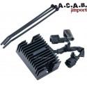 Regulateur noir pour Sportster xl de 94 à 2003 A.C.A.B. Import - 1