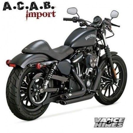 Pots Vance & Hines Shortshots black Sporster 2014 2018 Harley Davidson