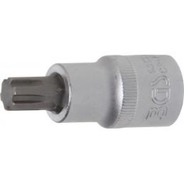 """Douille à embouts 12,5 mm (1/2"""") profil cannelé (pour RIBE) M10,3"""