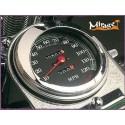 Visière de compteur « Mirage » pour Harley Davidson Custom Chrome - 1