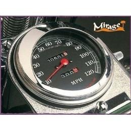 Visière de compteur « Mirage » pour Harley Davidson