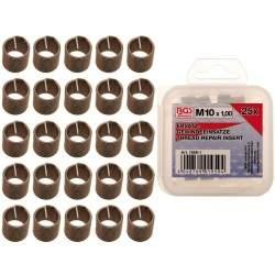 Inserts taraudés M10 x 1,0 mm 25 pièces BGS Technic - 1
