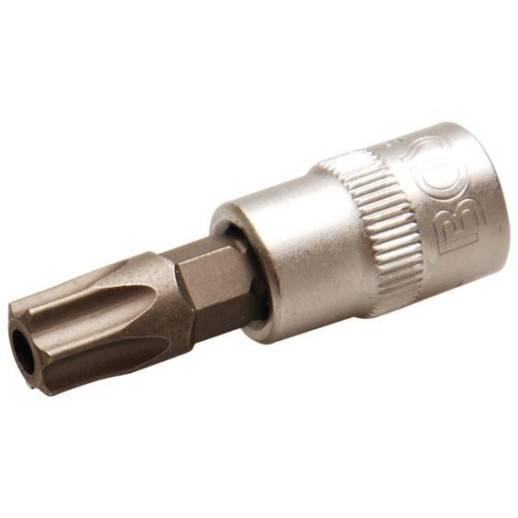 """Douille à embouts 6,3 mm (1/4"""") profil T (pour Torx) avec perçage T45"""