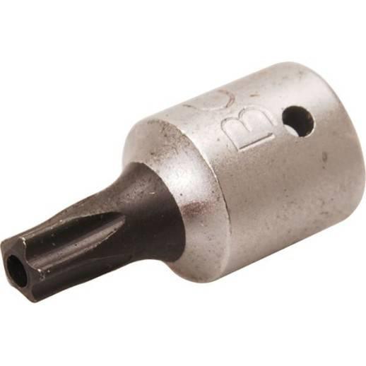"""Douille à embouts 6,3 mm (1/4"""") profil TS (pour Torx Plus) avec perçage TS25"""