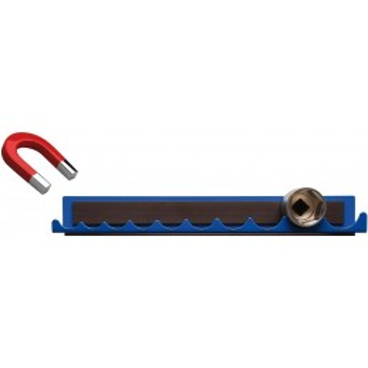 """Rail de support pour douilles de clé à douille aimanté pour 12,5 mm (1/2"""")"""